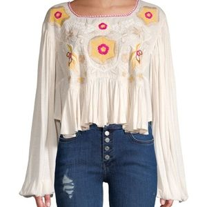 Free People Nude Cropped Top